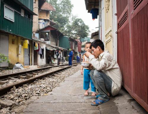 Vietnam –organizovaný chaos v Hanoji