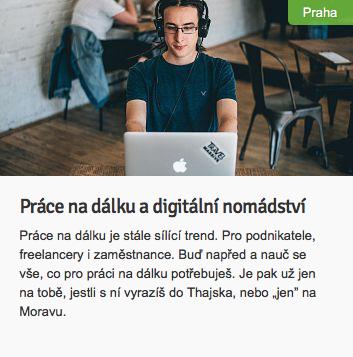 Práce na dálku a digitální nomádství