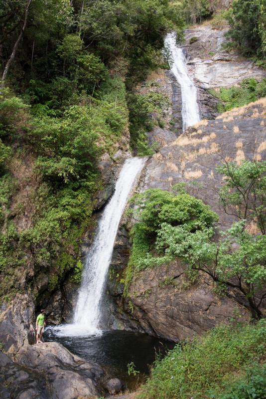 Vodopád v národním parku Doi Inthanon
