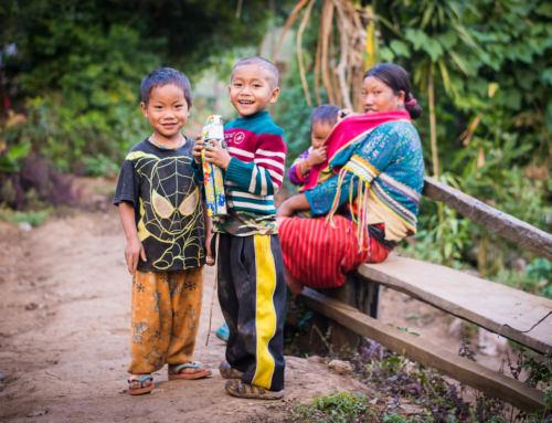Na dvou kolech severem Thajska